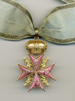 Order of Military Virtue (with monogram FL) Obverse