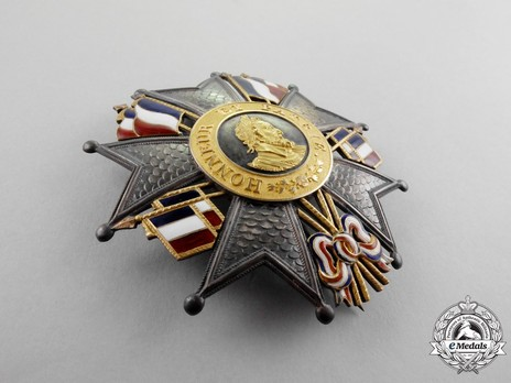 Grand Eagle Breast Star Reverse