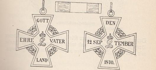 Military Merit Cross, 1870-1871