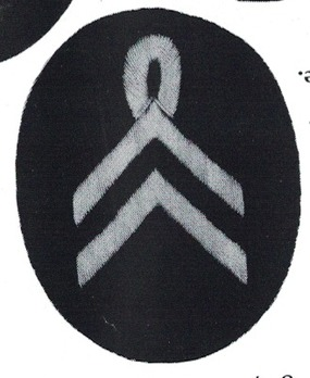 Kriegsmarine Drum and Fife Corps Member Insignia Type I Obverse
