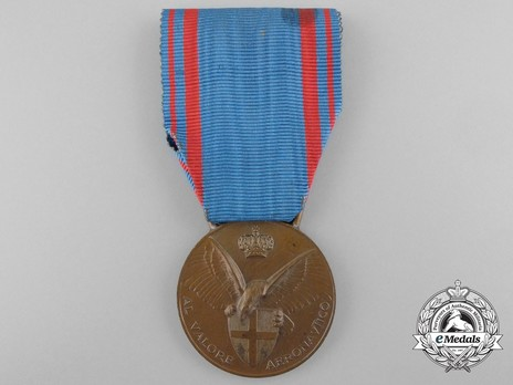 Aeronautic Valour Medal, in Bronze Obverse