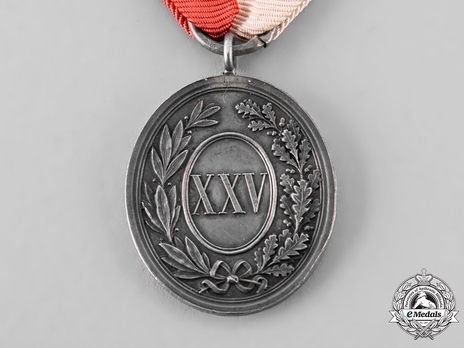 City Police Long Service Medal in Silver Reverse