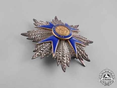 Order of Our Lady of Bethlehem, Grand Officer Breast Star