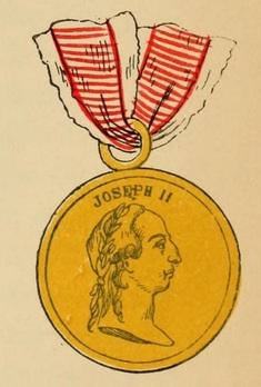 Type I, Gold Medal Obverse