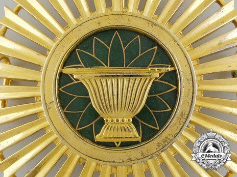 Royal Order of Sahametrei, Grand Cross Breast Star Obverse Detail