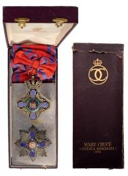 Grand Cross (Civil Division, 1877-1932) Case of Issue Interior and Exterior