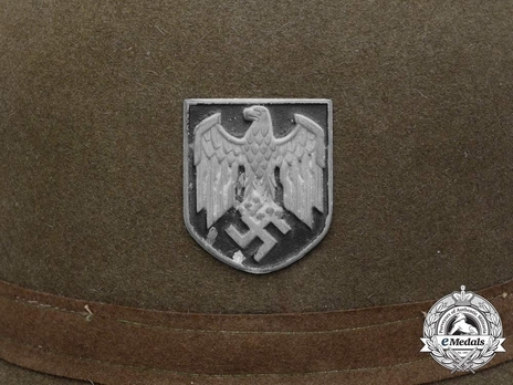 German Army Pith Helmet (2nd version) Eagle Decal