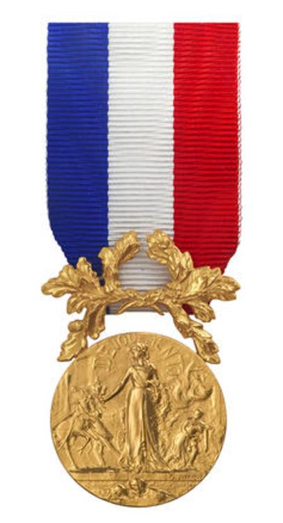 Medaille honneur vermeil