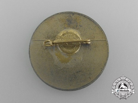 Tyrolean Marksmanship Gau Achievement Badge, Type VII, for Small Calibre Rifle Reverse