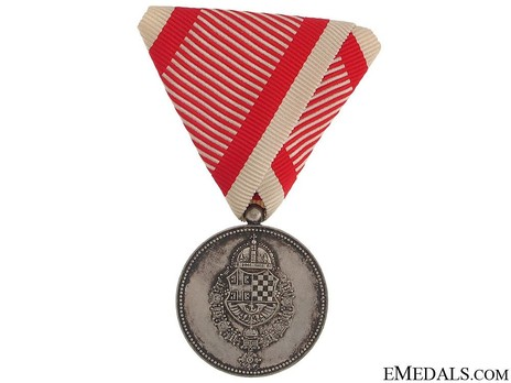 Medal for Meritorious Service to the King, IV Class Obverse