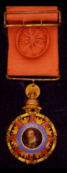 Order of Chula Chom Klao, Officer, III Class Obverse