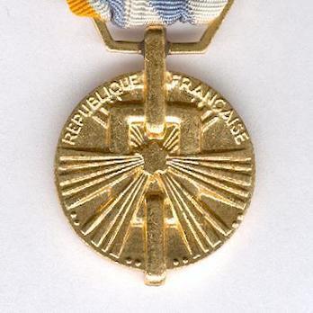 "Bronze Medal (stamped ""MAB"") Reverse"