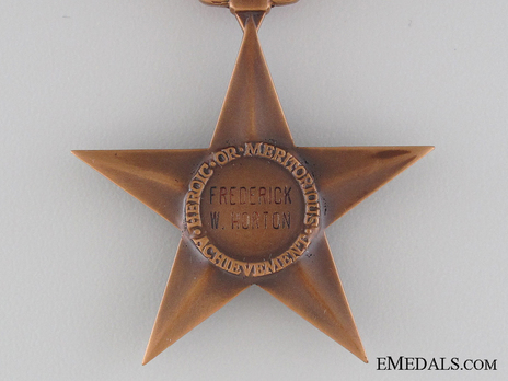 Bronze Star Reverse