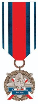 Medal for Police Merit, III Class Obverse