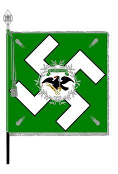 German Army State Police Flag Obverse