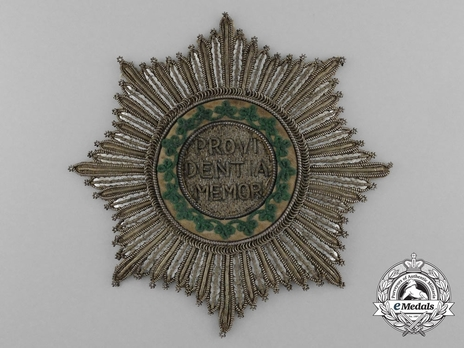 Breast Star (1807-1840) (Embroidered) Obverse
