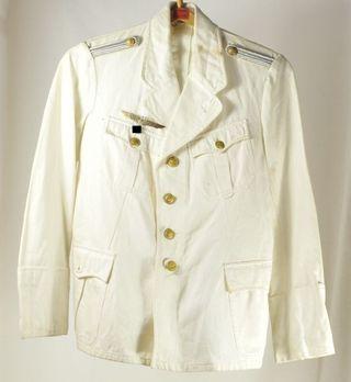 Kriegsmarine White Service Jacket (New Style pattern) Obverse