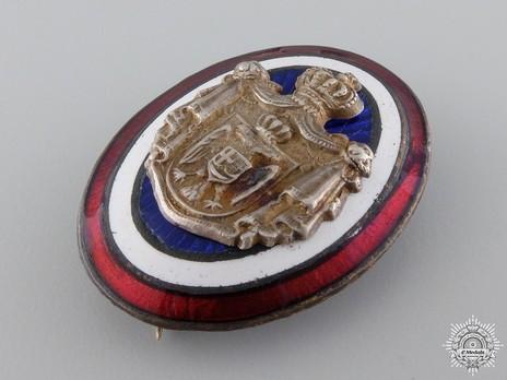 Household Officer's Cap Badge Obverse