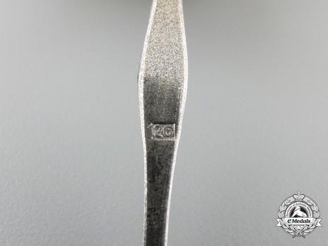 Iron Cross I Class, by B. H. Mayer (26, Type B pin) Detail