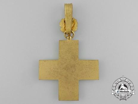 Cross of Honour of the German Red Cross, Type III, I Class Reverse