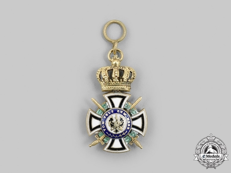 Royal House Order of Hohenzollern, Miniature Knight