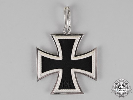 Knight's Cross of the Iron Cross, by Steinhauer & Lück (Type A, micro 800) Reverse