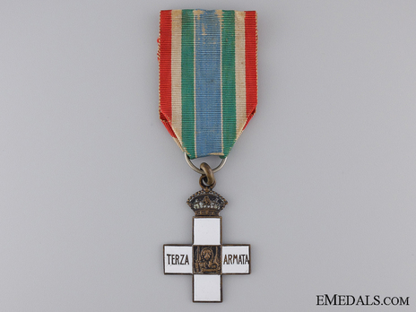 """Silver Cross (stamped """"L. FASSINO TORINO"""", with silvered bronze) Obverse"""