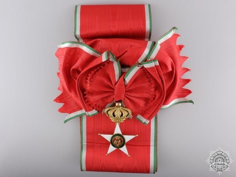 Order of the Colonial Star of Italy, Grand Cross Obverse