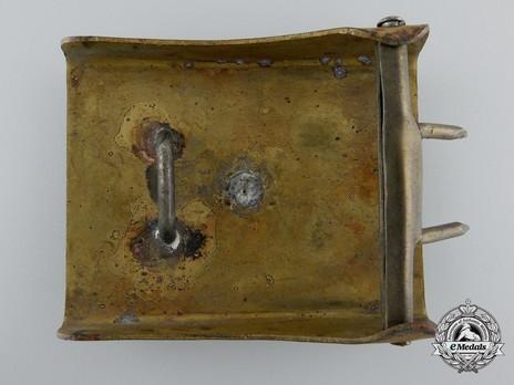 NSDStB Belt Buckle Type I (1st version) Reverse