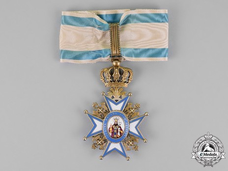 Order of Saint Sava, Type II, II Class Obverse