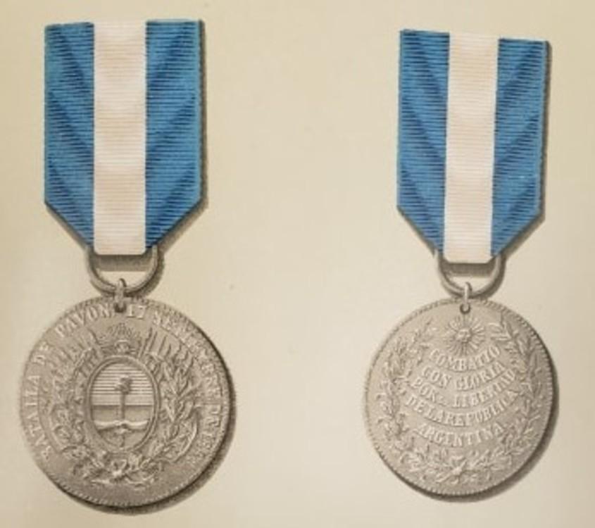 Republica+de+argentina+batalla+de+pavon+plata