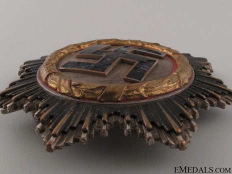 """German Cross, in Gold, by C. E. Juncker (Model 2, """"2"""", tombac) Obverse"""