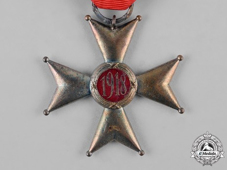 Order of Polonia Restituta, Officer (1921-1939) Reverse