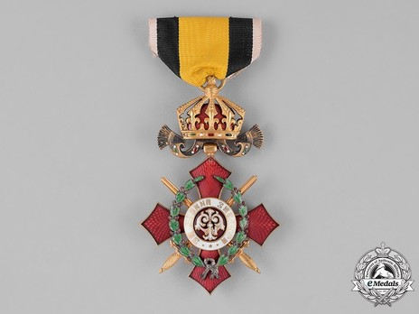 Order of Military Merit, VI Class (with war decoration) Obverse