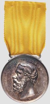 Silver Medal (1882-1908) Obverse