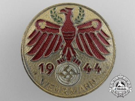 Tyrolean Marksmanship Gau Achievement Badge, Type VII, for Rifle Obverse