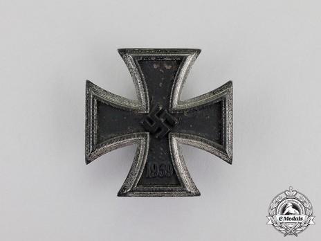 Iron Cross I Class, by C. F. Zimmermann (L/52) Obverse