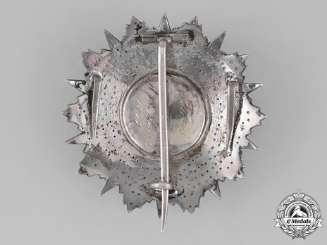 Order of Glory, Type II, Grand Officer Breast Star (1875)