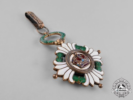 Order of the Yugoslav Crown, Grand Officer's Cross Obverse