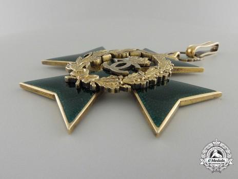 Order of Agricultural Merit, Type I, Grand Officer's Cross Obverse