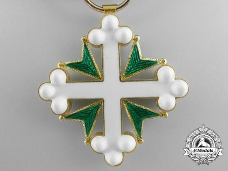 Order of St Maurice and St. Lazarus, Knight's Cross Reverse