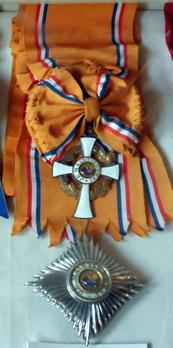 Grand Cross Star and Badge