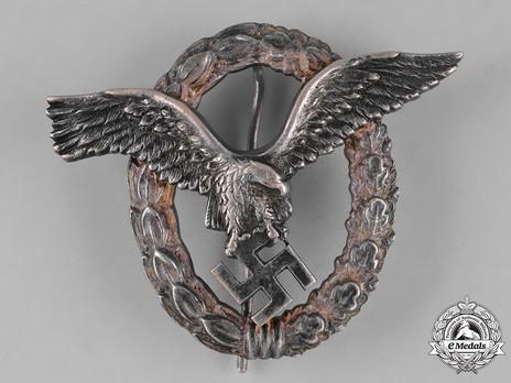 Pilot Badge, by Brüder Schneider (in tombac) Obverse