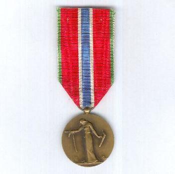 """Bronze Medal (stamped """"M DELANNOY"""") Obverse"""