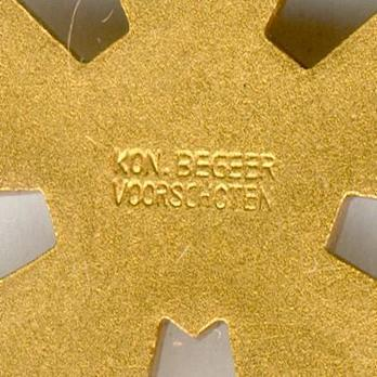 Bronze Cross (1909-1958) Reverse Detail