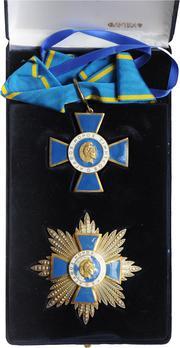 Order of Honour, Grand Commander Breast Star (1984-)
