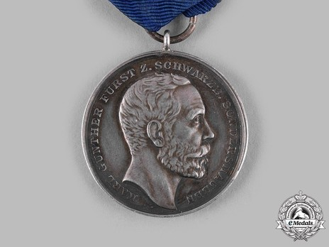 Service Medal for Commercial and Industrial Merit, Type III, in Silver (1906, 1918)