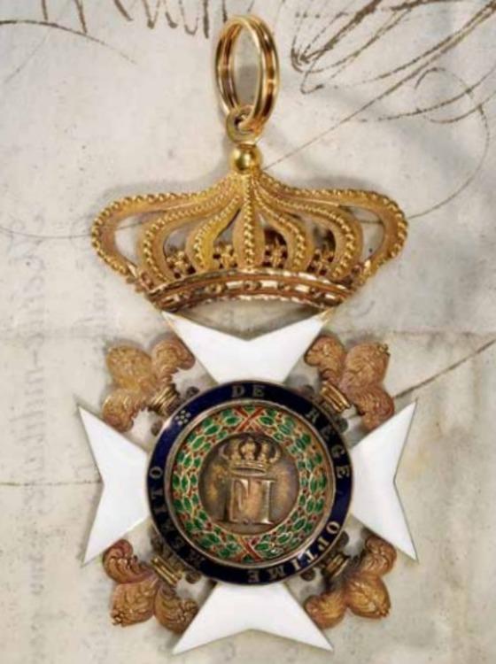 Royal+order+of+st+ferdinand+and+of+merit%2c+commander+