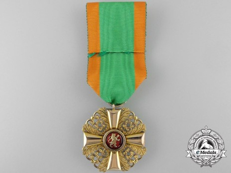 I Class Knight (in gold) Reverse with Ribbon
