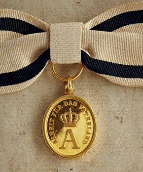 Work Medal (in silver gilt)